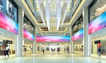 大型商场装饰